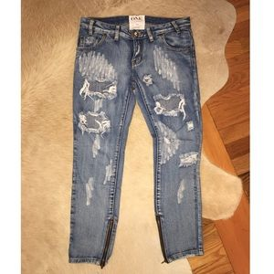 One Teaspoon Jeans- like new